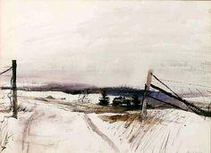 Andrew Wyeth | Kireei, cosas bellas