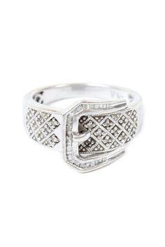 Sterling Belt Ring