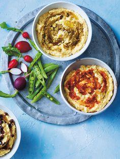 Jamie's Big-Batch Hummus Tahini, Lemon & A Hint Of Garlic