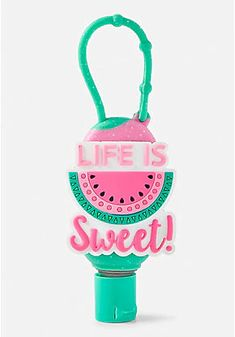 Justice is your one-stop-shop for on-trend styles in tween girls clothing & accessories. Shop our Life is Sweet Antibac. Justice Girls Clothes, Justice Clothing, Unicorn Fashion, Hand Sanitizer Holder, Cool Toys For Girls, Cute School Supplies, Bath Girls, Body Makeup, Cute Disney Wallpaper