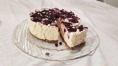 Ostekake - Blueberry Bliss - Fett & Forstand Lchf, Sour Cream, Tiramisu, Blueberry, Bliss, Cheesecake, Ethnic Recipes, Desserts, Food
