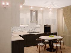 дизайн маленькой кухни 9 м