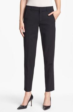 Vince 'Strapping' Stretch Wool Trousers available at #Nordstrom