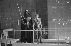 Mark and David Prowse between takes on ESB