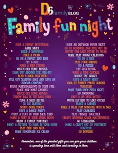 is a family ministry movement intentional about empowering parents, homes, marriages, leaders, and churches to live out the story of Deuteronomy Family Theme, Family Fun Night, Family Games, Fun Fall Activities, Family Activities, Kid Dates, Empowering Parents, Bucket List Family, Barbie Miniatures