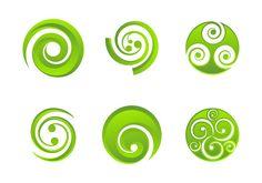 Set of koru logo that you can use for your project New Zealand Tattoo, New Zealand Art, Koru Tattoo, Maori Symbols, Maori Patterns, Crystal Tattoo, Maori Designs, Maori Art, Graphic Design Tutorials