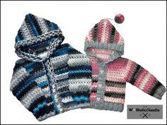 Die 68 Besten Bilder Von Jacken Häkeln Crochet Tops Jackets Und