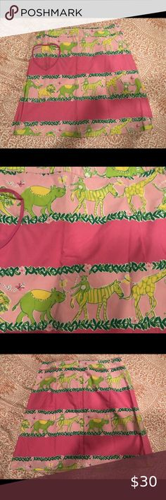 NWT Gymboree Girls Animal Party Zebra Skirt with 3D Pom-Pom Trim Size 10