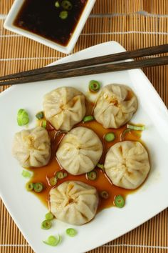 No Gluten, No Problem: Shanghai Street Dumplings    I think I might just make the filling and wrap it in steamed cabbage instead of fiddling with making wrappers :)