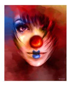 Clown by yasmine-chan