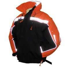 Float Tech Rally Jacket Inflatable PFD - Orange/Black - Size S - https://www.boatpartsforless.com/shop/float-tech-rally-jacket-inflatable-pfd-orangeblack-size-s/