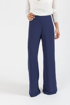 Pantalón OCÉANO Azul Zafiro - Pantalones y Faldas - SHOP