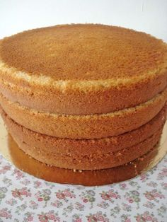 Bizcocho base para pastel
