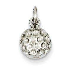 14ky Casted Medium Polished Top Charm Best Quality Free Gift Box