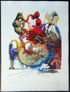 Salvador Dali hand signed lithographs