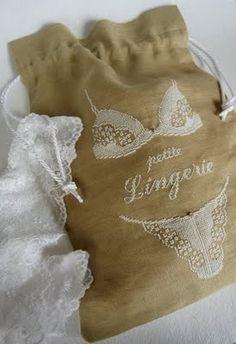 Junie Moon: Lingerie Bags