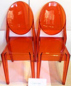 Victoria Ghost Chair   Orange Color @Abdul Hadi Akhtar