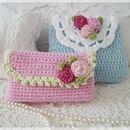 Taschentücher-Taschen - ●✿● Taschentüchertäschchen ●✿● - ein Designerstück von French-Romantic bei DaWanda