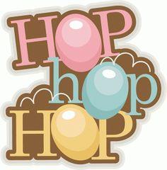 Silhouette Design Store - View Design #76586: hop hop hop title