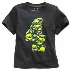 "Jumping Beans ""4"" Dinosaur Tee - Toddler"