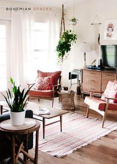 10 Bohemian Living Spaces