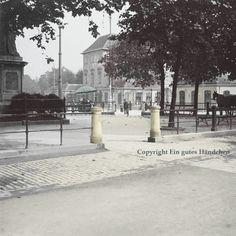 #HietzingerTor #Hietzing #Schonbrunn #Zoo #Schönbrunn um 1915, #alteFotos #koloriert #FineArtPrint #altWien #historicPark