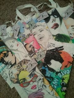 my bags ready for sale :)