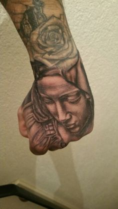 Maria hand tattoo by tommygun