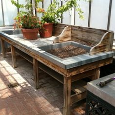 DIY Potting Bench | Potting bench (one day....) by annmarie