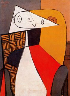 Pablo Picasso: Seated Woman (1930).
