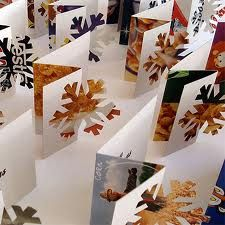 recycle christmas cards - Google Search