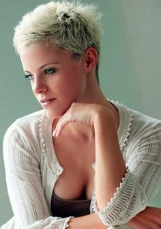 Very Short Pixie Hair Pictures