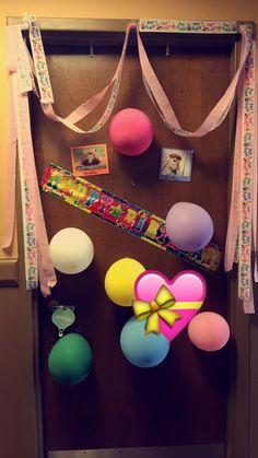 20th Birthday Dorm Room Decoration Surprise!