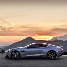 A Vanquish kind of sunset. Thanks for the #astonmartinlive share @ksgto #astonmartin #vanquish #luxury #cars #sunset