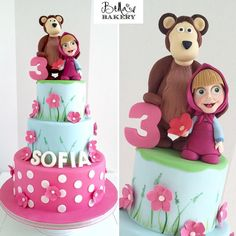 Masha and the Bear - bellasbakery