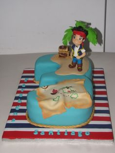 - Jake and the neverland pirates Cake