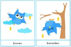 boven - beneden Mamas And Papas, Spelling, Vocabulary, Ads, Teaching, Logos, School, Event Posters, Occupational Therapist