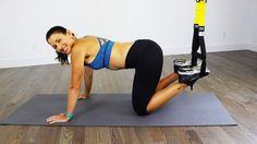 TRX Kick Ass 'N Abs Workout - YouTube
