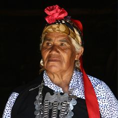 Mujer Mapuche by Juan Ernesto Jaeger