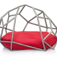 pet bed designs - If you are looking for Lady Gaga-esque pet bed designs, this furniture will suit your furry family member just fine. The Atomo bed by Pet Superfine. Friends Furniture, Dog Furniture, Cool Dog Houses, Designer Dog Beds, Pet Beds, Doggie Beds, House Design, Home Decor, Dog Milk