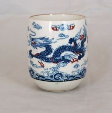 Blue Dragon Chinese Tea Cup