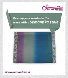 All you need is the right accessory to change your look. This stole by Semantika can spice up your casual look.  Shop now: www.semantika.in