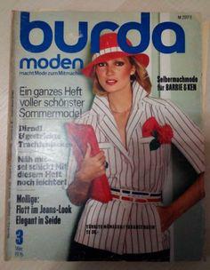 BURDA MODEN Sewing Magazine GERMAN 1976 - All Uncut Patterns - Vintage Fashion. Vintage is Good!