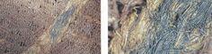 Farver, mønstre og dekorationer. Analyser af farvestoffer i tekstiler fra yngre jernalder (ca. 400-800 e.v.t.) har vist, at det var en almindelig praksis at farve stofferne. I ældre germansk jernalder ligner tekstilmønstrene dem, vi kender fra ældre jernalder, med mange striber og tern i forskellige farver. I yngre germansk jernalder forandres tekstildesignet, og nu er stofferne almindeligvis ensfarvede. I stedet lægges der særlig vægt på tekstilernes vævemønstre og stoffernes…