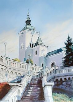 Church of St. Ondreja in Ruzomberok (Church of St. Andrew) - at Rynek, Ruzomberok, Slovakia Bratislava, Schengen Area, Houses Of The Holy, Heart Of Europe, Beautiful Places In The World, Central Europe, Place Of Worship, Budapest Hungary, Kirchen