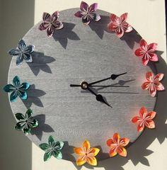 Over the Rainbow Flower Clock