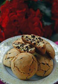 The pleasure of taste: Μπισκότα με ζαχαρούχο γάλα και σταγόνες σοκολάτας χ.γ.