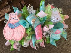 Winter Hairbows, Mittens Hairbow, Hair Bow, Hair Clip, Bows for Headbands, Bows for Girls, Pink Hair Bow, One of a Kind Hairbow, Hairbow by 1BuggaBooBows on Etsy https://www.etsy.com/listing/251822074/winter-hairbows-mittens-hairbow-hair-bow