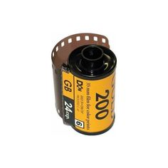 Kodak Film 200 ASA GB 135-24 Pro Pack In Canister Only 24 Exp. ❤ liked on Polyvore