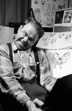 24 Disney Animators Study Their Reflections In The Mirror To Draw Their Characters Right